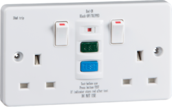 13A 2G RCD Switched Socket-RCD9000-Knightsbridge