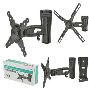 AV:LINK Single Arm Full Motion TV/Monitor Wall Mount Bracket FOR LED & LCD SCREENS SIZED 13'' TO 40''