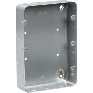 Metalclad 9-12G surface mount box