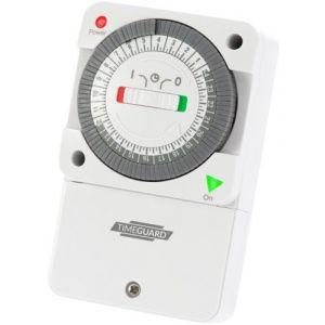 Slimline 16A 24hr Segment General Purpose Timeswitch-NTT05-TIMEGUARD
