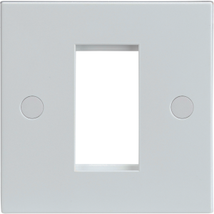 1G Modular Faceplate - White