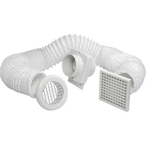 Manrose Shower Fan Kit VSF100T - 4 inch/100 mm