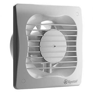Xpelair VX150T 93227AW Kitchen/Bathroom Wall or Ceiling Extractor Fan with Timer - White (for use with 150mm / 6 Inch Ducting)