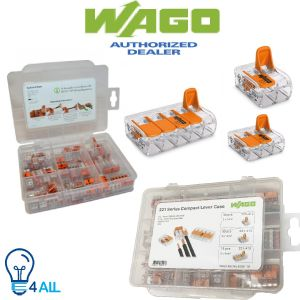 Wago 60281155 - 221 Series 221-412 221-413 221-415 Compact Lever case