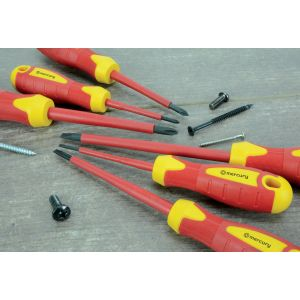 VDE Approved Insulated Screwdriver Set - 6pcs