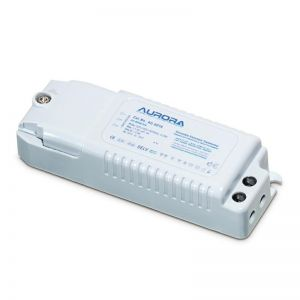 Aurora White Premium Pre-Wired Dimmable Electronic Transformer With 30cm Primary/Secondary Le