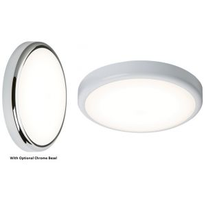 230V IP44 20W Trade LED Flush with Sensor/Dimming Function 6000K