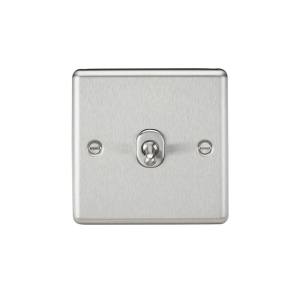 10A 1G 2 Way Toggle Switch-Rounded-CLTOG1BC-Knightsbridge