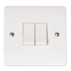 1G 2 APERTURE WITH 2 x RETRACTIVE MODULE-CMA-SMART2-Scolmore