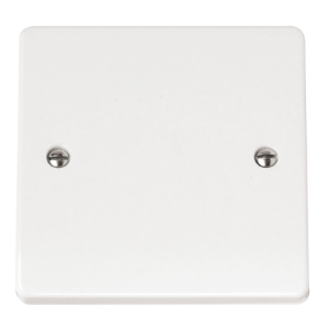 1-GANG BLANK PLATE-CMA060-Scolmore