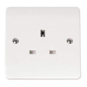 1-GANG 13A SOCKET OUTLET-CMA030-Scolmore
