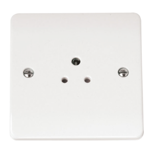 1-GANG 2A ROUND PIN SOCKET OUTLET-CMA039-Scolmore