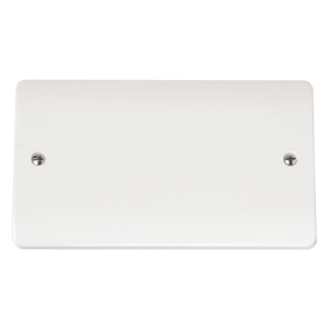 2-GANG BLANK PLATE-CMA061-Scolmore
