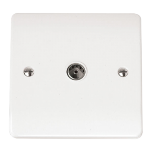 ISOLATED COAXIAL SOCKET SINGLE OUTLET-CMA158-Scolmore