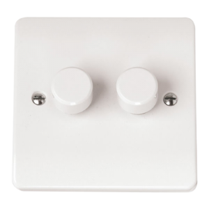2 GANG 2 WAY 250VA DIMMER-CMA146-Scolmore