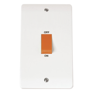 2-GANG45A D/P SWITCH-CMA202-Scolmore
