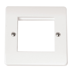 SINGLE PLATE TWIN APERTURE FOR MEDIA MOD-CMA311-Scolmore