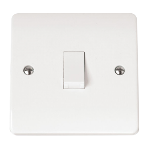 1-GANG 2-POLE 20A SWITCH W/O F/OUTLET-CMA622-Scolmore