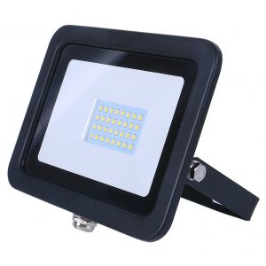 Red Arrow 20W SMD AC FLOODLIGHT - 3100K - BLACK  FLAC20B-31
