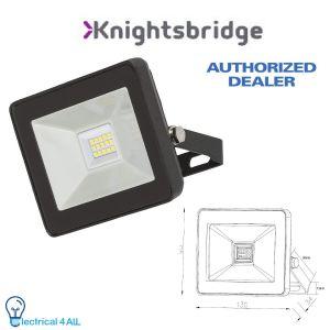 Knightsbridge 230V IP65 100W LED Black Die-Cast Aluminium Floodlight 4000K FLF100