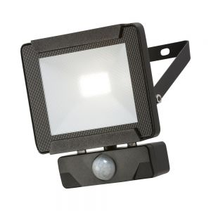 Knightsbridge 230V IP65 10W LED Floodlight with PIR sensor 4000K