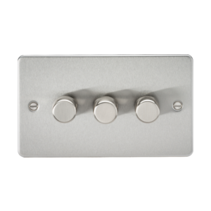 FLAT PLATE 3G 2 WAY 40-400W DIMMER-FP2173-Knightsbridge