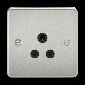Flat Plate 5A unswitched socket-FP5A-Knightsbridge