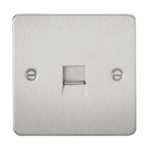 Flat Plate Telephone extension socket-FP7400-Knightsbridge