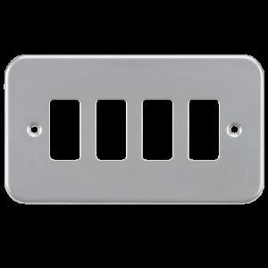 Metalclad 4G grid faceplate-GDFP004M-Knightsbridge