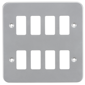 Metalclad 8G grid faceplate-GDFP008M-Knightsbridge