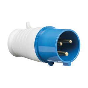 240V IP44 32A Plug 2P+E-IN0011-Knightsbridge