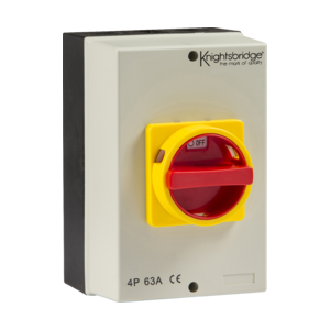 IP65 63A Rotary Isolator 4P AC (230V-415V)-IN0027-Knightbridge