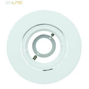 Enlite EFD Pro Matt White Adjustable 102mm Aluminium Lock Ring Bezel-EN-BZ92MW-ENLITE