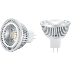 12V MR16 AC/DC 5W COB LED Cool White 4000K 440 Lumens-MRCOB5CW-Kightsbridge