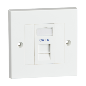 Single Cat6 Outlet Kit-NET6KIT1-Knighsbridge