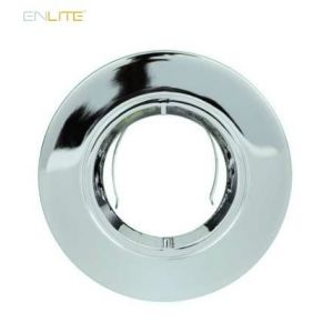 Enlite EFD Pro Polished Chrome Adjustable 102mm Aluminium Lock Ring Bezel-EN-BZ92PC-ENLITE