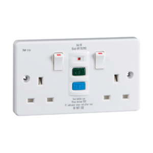13A 2G RCD Switched Socket-RCD9000-Knightsbridge