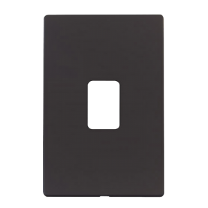 45A 2G SWITCH PLATE - SCP202 - Scolmore