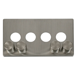 4G DIMMER SW PLATE - SCP244 - Scolmore