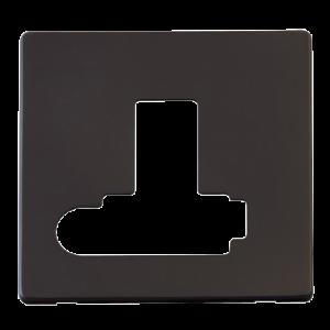 13A FCU SW + F/O (LOCK) PLATE - SCP351 - Scolmore