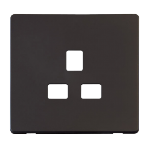 1G 13A SOCKET PLATE - SCP430 - Scolmore