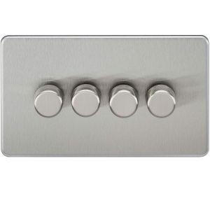 Screwless 4G 2-Way 40-400W Dimmer Switch-SF2184-Knightsbridge