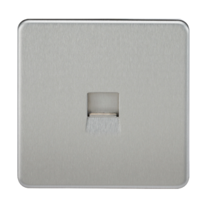 Screwless Telephone Master Socket-SF7300-Knightsbridge