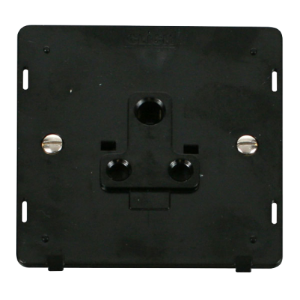 1G 5A ROUND PIN SOCKET INSERT - SIN038 - Scolmore