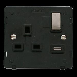 1G SP 13A SW SKT 2.1A USB DEFINITY - SIN571 - Scolmore