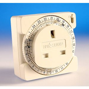 Compact Plug in Timer 24HR-TS800B-TIMEGUARD
