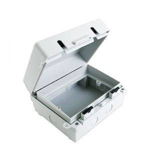 Europa IP65 2 Gang Weatherproof Outdoor Socket & Switch Accessory Enclosure Box