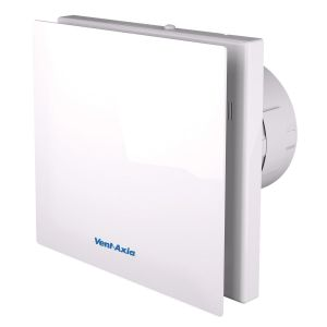 Vent-Axia VASF100T Silent Timer Extractor Fan For Bathrooms Extractor Fan with Overrun Timer