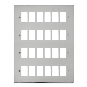 GRIDPRO 24 GANG DECO PLATE-VP**20524-Scolmore