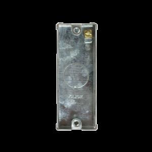 1 GANG DECO ARCHITRAVE 25MM K/O BOX-WA571-Scolmore
